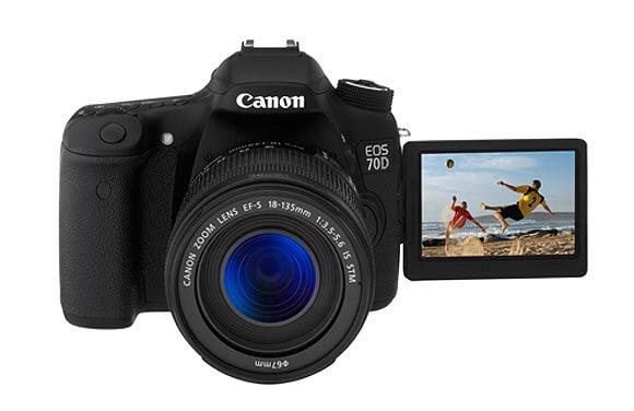 DSLR كاميرات ذات شعبية عالية