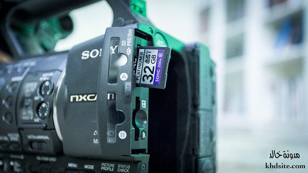 الذاكرة الاكثر استخداما في الكاميرات الحديثة
