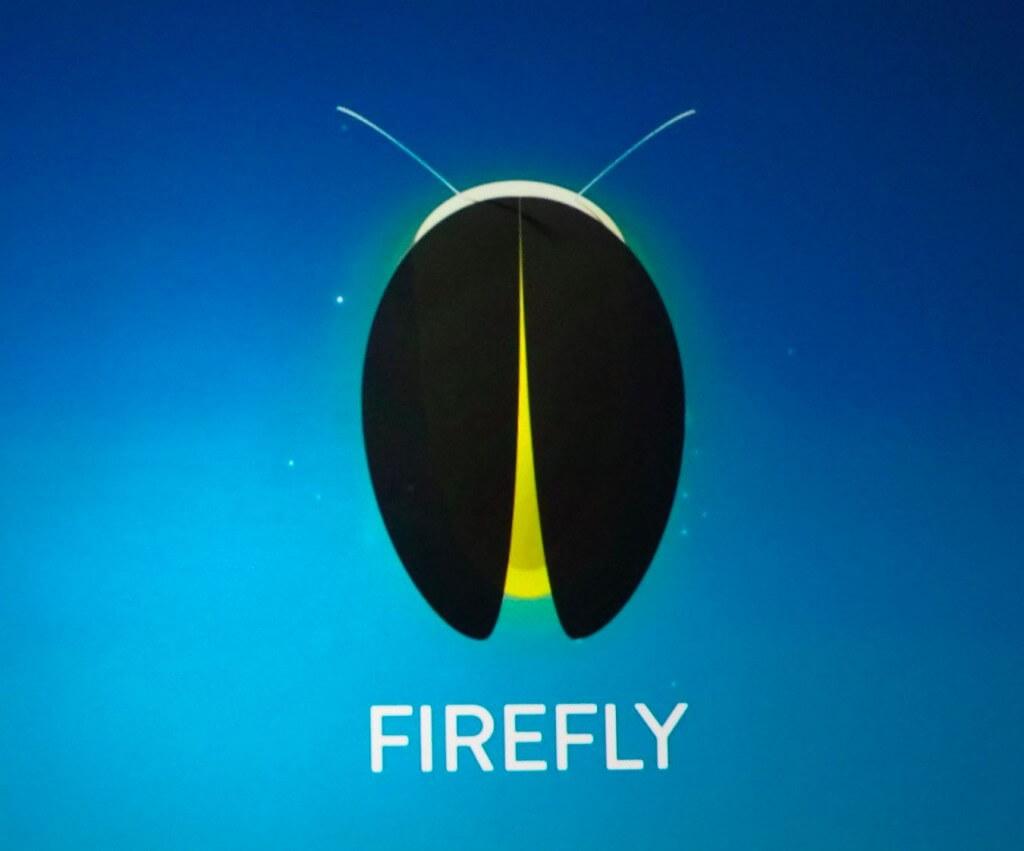 شعار خدمة امازون المعروفة ب Firefly